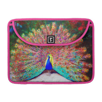 Vintage Peacock Painting Sleeve For MacBooks