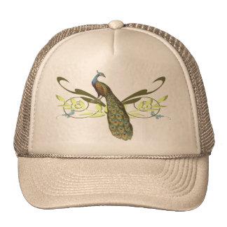 Vintage Peacock Trucker Hat