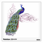 Vintage Peacock Wall Stickers