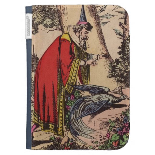 Vintage Peacock  & Wizard Kindle 3G Cases
