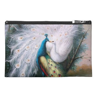Vintage Peacocks Kiss Travel Accessories Bags