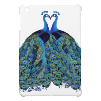 Vintage Peacocks Kissing Wedding Gifts Case For The iPad Mini