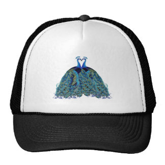 Vintage Peacocks Kissing Wedding Gifts Trucker Hat
