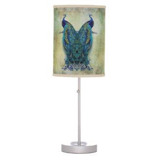 Vintage Peacocks Table Lamp
