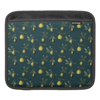 Vintage Pear Illustration Sleeve For iPads