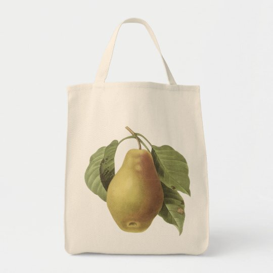 Vintage Pear...tote bag