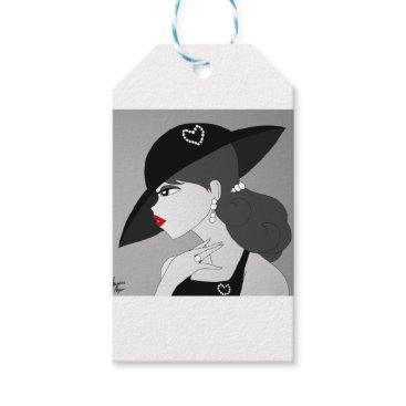 jasmineflynn Vintage Pearls Gift Tags
