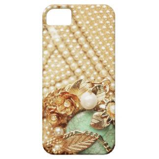 Vintage Pearls iPhone Case