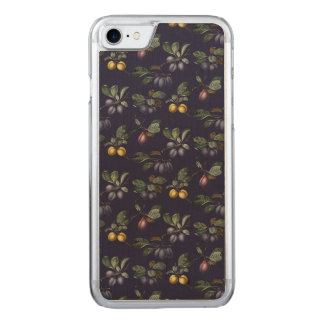 Vintage Pears and Plums Carved iPhone 7 Case