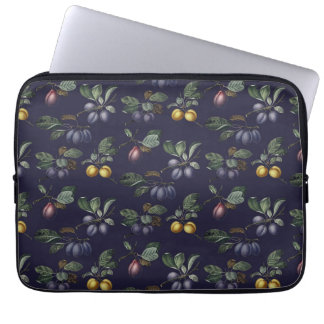 Vintage Pears and Plums Computer Sleeve