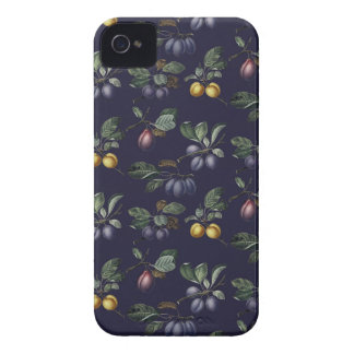 Vintage Pears and Plums iPhone 4 Case