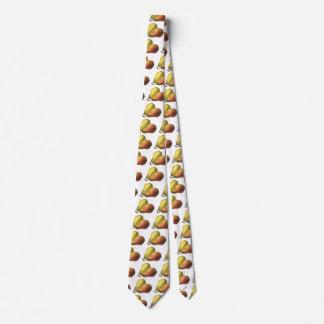 Vintage Pears, Organic Foods, Ripe Fruit Neck Tie
