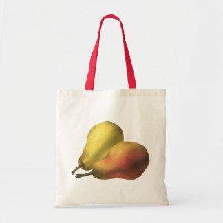 Vintage Pears, Organic Foods, Ripe Fruit Tote Bag