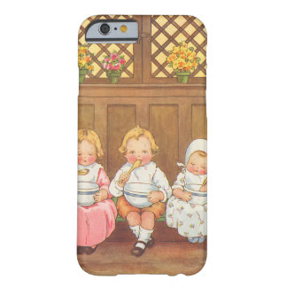 Vintage Pease Porridge Hot Childrens Nursery Rhyme Barely There iPhone 6 Case