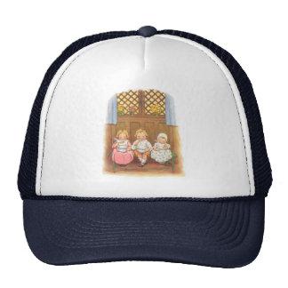 Vintage Pease Porridge Hot Nursery Rhyme Trucker Hat