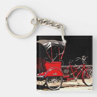 Vintage Pedal Cab Keychain
