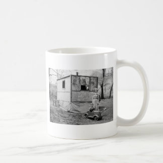 Vintage Pedal Car in the Great Depression, 1930s Coffee Mug