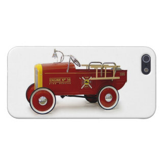 Vintage Pedal Cars Kids Children's Toys Cover For iPhone 5
