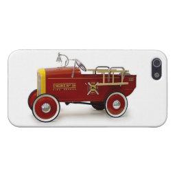 Vintage Pedal Cars Kids Children's Toys iPhone SE/5/5s Cover