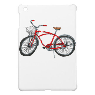 Vintage Pedal Power Bicycle Drawing iPad Mini Covers