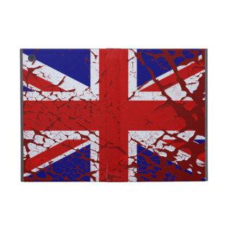 Vintage Peeling Paint Union Jack Flag iPad Mini Cases