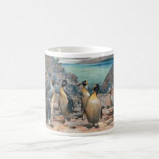 Vintage Penguin Herd Coffee Mug