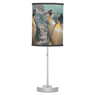 Vintage Penguin Herd Desk Lamp