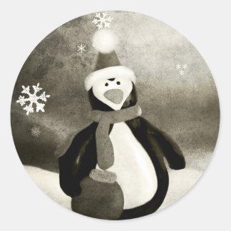 Vintage Penguin Sticker