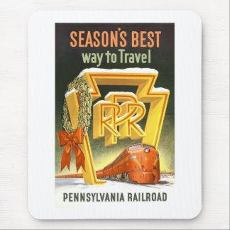 Vintage Pennsylvania Railroad Mouse Pad
