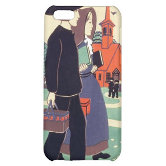 Vintage Pennsylvania Schoolhouse Case For iPhone 5C