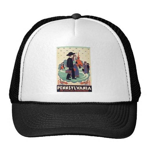 Vintage Pennsylvania Schoolhouse Trucker Hat