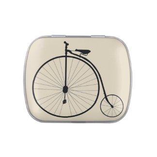 Vintage Penny Farthing Bicycle Jelly Belly Tins