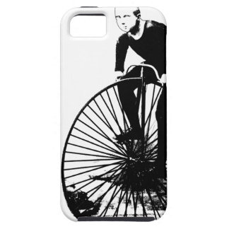Vintage Penny Farthing Bicycle Illustration iPhone SE/5/5s Case