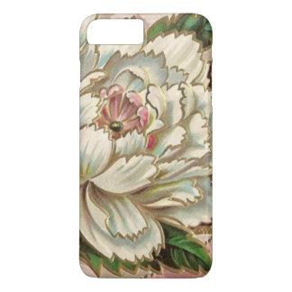 Vintage Peony Flower iPhone 7 Plus Case
