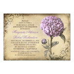 vintage peony REHEARSAL LUNCH & FAMILY CELEBRATION 3.5x5 Paper Invitation Card