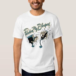 """Vintage """"perdón camiseta de mi Blooper"""" Playeras"""