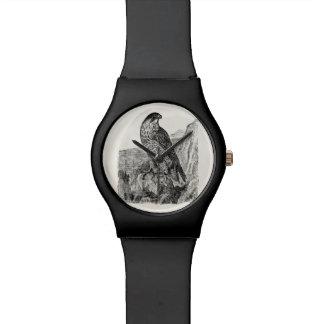 Vintage Peregrine Falcon Personalized Retro Birds Watch