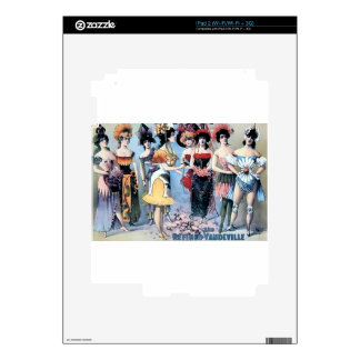 Vintage Performers Women Costumes Skins For The iPad 2