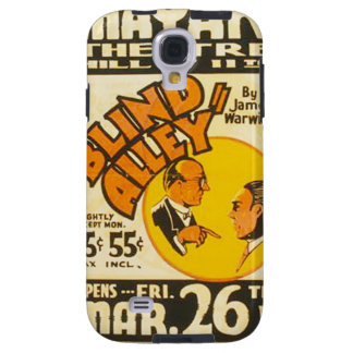 """Vintage Performing Arts """"Blind Alley"""" WPA Poster Galaxy S4 Case"""