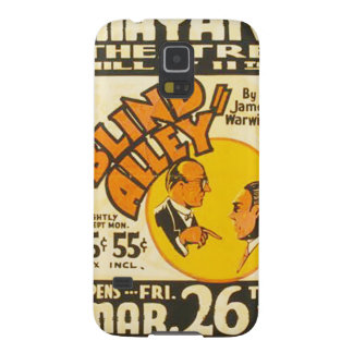 """Vintage Performing Arts """"Blind Alley"""" WPA Poster Galaxy S5 Case"""