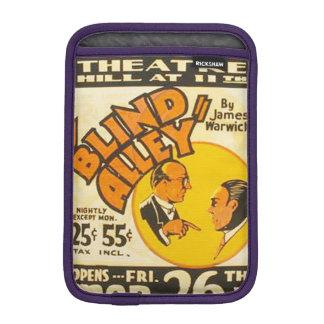 "Vintage Performing Arts ""Blind Alley"" WPA Poster iPad Mini Sleeve"