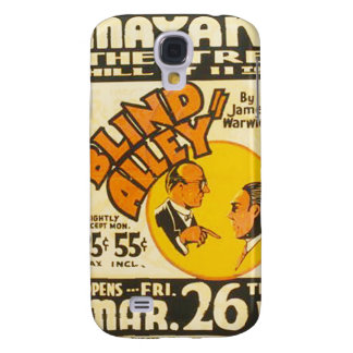 """Vintage Performing Arts """"Blind Alley"""" WPA Poster Samsung Galaxy S4 Cover"""
