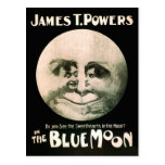 Vintage Performing Arts Poster Blue Moon 1906 Postcards
