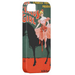 Vintage Performing Arts Poster The Circus Girl iPhone 5 Case