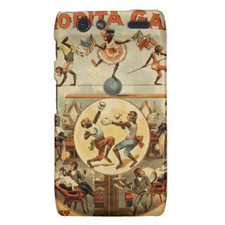 vintage-performing-monkeys-poster. motorola droid RAZR carcasa