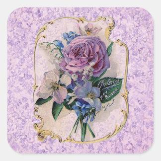 Vintage Perfume Ad Stickers