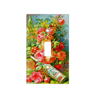 Vintage Perfume Ads Light Switch Cover