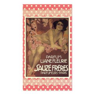Vintage Perfume Business Card