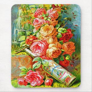 Vintage Perfume Mouse Pad