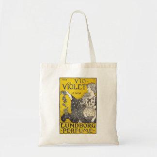 Vintage Perfume Poster Tote Bag